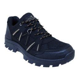 12 Units of Men's Lightweight Hiking Boots In Black - Men's Footwear