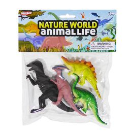 48 Units of Nature World Dinosaurs - Animals & Reptiles