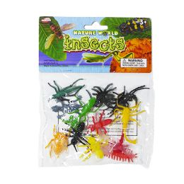 48 Units of Nature World Mini Insects - Animals & Reptiles