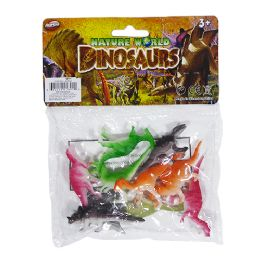48 Units of Nature World Mini Dinosaurs - Animals & Reptiles