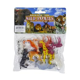 48 Units of Nature World Mini Wild - Animals & Reptiles