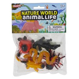 48 Units of Nature World Baby Reptiles - Animals & Reptiles