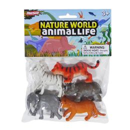 48 Units of Nature World Baby Safari - Animals & Reptiles