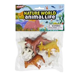48 Units of Nature World Baby Farm - Animals & Reptiles