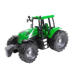 9 Units of Friction Powered Farm Tractor - Cars, Planes, Trains & Bikes