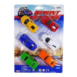 18 Units of Sprint Racers - Cars, Planes, Trains & Bikes
