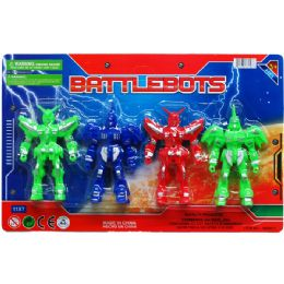 96 Units of BATTLEBOTS ON BLISTER CARD - Action Figures & Robots