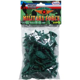 48 Units of ARMY COMBAT TEAM IN PVC BAG - Action Figures & Robots