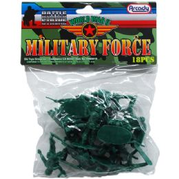 72 Units of ARMY COMBAT TEAM IN PVC BAG - Action Figures & Robots