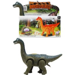 24 Units of DINOSAUR BRONTOSAURUS IN COLOR BOX - Animals & Reptiles