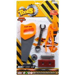 96 Units of TOOL PLAY SET ON BLISTER CARD - Light Up Toys