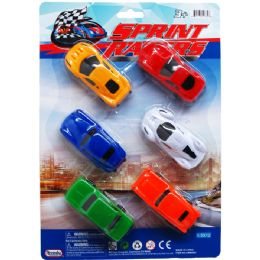 72 Units of SPRINT RACERS ON BLISTER CARD - Cars, Planes, Trains & Bikes