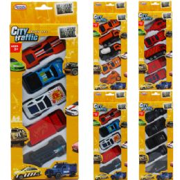 72 Units of Diecast Cars And Trucks In Pegable Window Box - Cars, Planes, Trains & Bikes