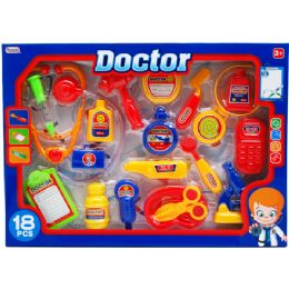 8 Units of Doctor Play Set In Window Box - Toy Sets