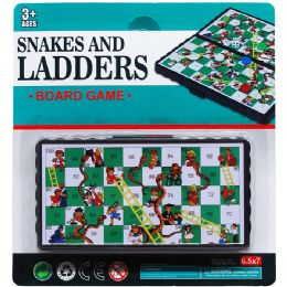 96 Units of Snakes And Ladders Board Game - Dominoes & Chess