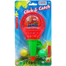 72 Units of CLICK AND CATCH BALL GAME - Sports Toys