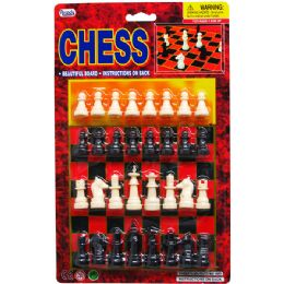 72 Units of Chess Game Set - Dominoes & Chess