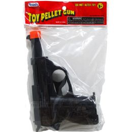 144 Units of TOY PELLET GUN IN PEGABLE PP BAG - Toy Weapons