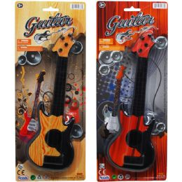 48 Units of Guitar On Blister Card - Musical