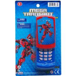 96 Units of Robot Cellphone On Blister Card - Novelty Toys