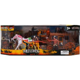24 Units of Wild The Best West Play Set In Window Box - Action Figures & Robots