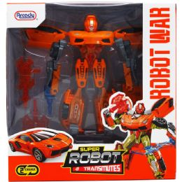 12 Units of Transforming Robot With Accss In Window Box - Action Figures & Robots