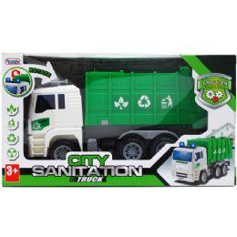 12 Units of Sanitation Truck In Window Box - Cars, Planes, Trains & Bikes