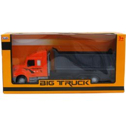 12 Units of Construction Dump Truck In Window Box - Cars, Planes, Trains & Bikes