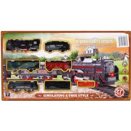 12 Units of Train Play Set With Sound And Light - Cars, Planes, Trains & Bikes