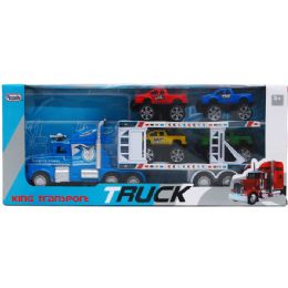12 Units of Container With Truck - Cars, Planes, Trains & Bikes