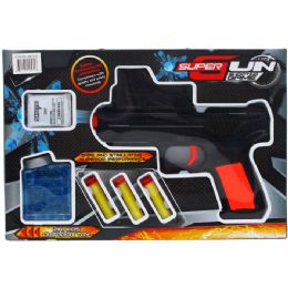 12 Units of TOY SOFT FOAM GUN WITH ACCESORIES - Toy Weapons