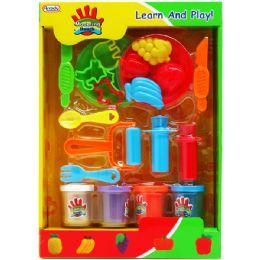 16 Units of CREATIVE PLASTICINE PLAY SET IN WINDOW BOX - Clay & Play Dough