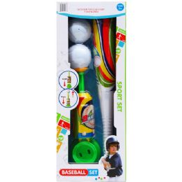 12 Units of BASEBALL BAT WITH BALLS AND ACCESORIES - Balls