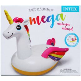 2 Units of Unicorn Island With Handles In Color Box - Beach Toys