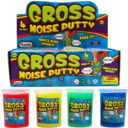 96 Units of Gross Noise Putty In Display Box - Slime & Squishees