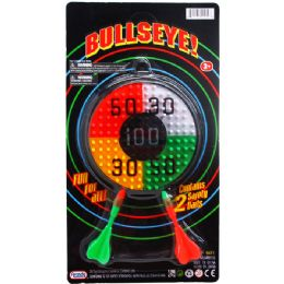 72 Units of 2 DART BULLSEYE TARGET GAME SET - Sports Toys