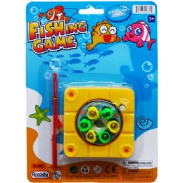 48 Units of FISHING GAME WITH ROD - Light Up Toys