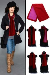 24 Units of Red Fashion Winter Scarf - Winter Scarves