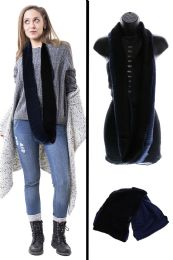 24 Units of Black Infinity Scarf - Winter Scarves