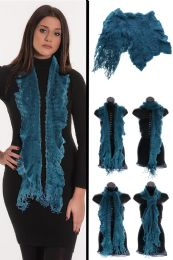24 Units of Blue Fashion Winter Scarf - Winter Scarves