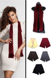 24 Units of Fashion Winter Scarf in Assorted Colors - Winter Scarves