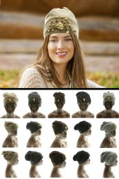 24 Units of Assorted Acrylic Beanie - Fashion Winter Hats