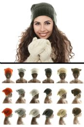 36 Units of Assorted Acrylic Knit Hat - Fashion Winter Hats