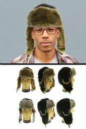 12 Units of Assorted Animal Fur Trapper Hat - Trapper Hats