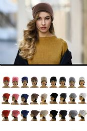 36 Units of Beanie Hat One Size Fits Most - Fashion Winter Hats