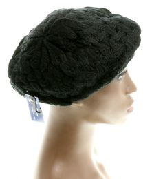 24 Units of Knit Beret - Fedoras, Driver Caps & Visor