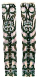 36 Units of Wearable Sleeve With Tribal Totem Pole Tattoo Design - Costumes & Accessories