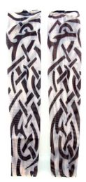 36 Units of Wearable Sleeve With Tribal Print Tattoo Design - Costumes & Accessories