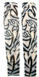 36 Units of Wearable sleeve with tribal image tattoo design - Costumes & Accessories