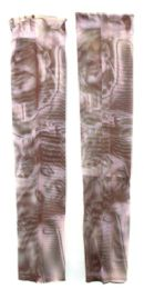 36 Units of Wearable Sleeve With A Two Person Black And White Image Tattoo Design - Costumes & Accessories